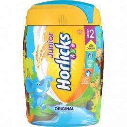 Horlicks Malt Based Food - Junior Original Stage 2 Health drinks