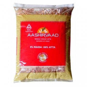 Aashirvaad Atta - Whole Wheat offers