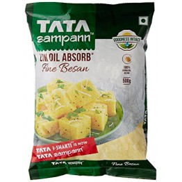 Tata Sampann Besan - Low oil Absorb