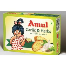 Amul Buttery Spread - Garlic & Herbs daily Use