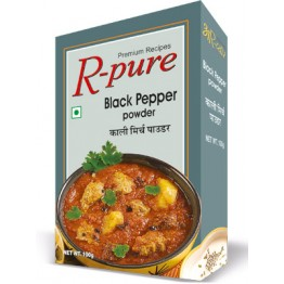 R-Pure Black Pepper Masala & Spices