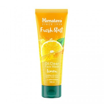 Himalaya Fresh Start Oil Clear Lemon Face Wash Lip Care