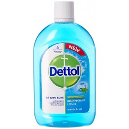 Dettol DisinfectantLiquid - Multi-Use, Menthol Cool Detergents