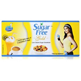 Sugar free Gold - Sweetener Sachets Sugar salt and Jaggery
