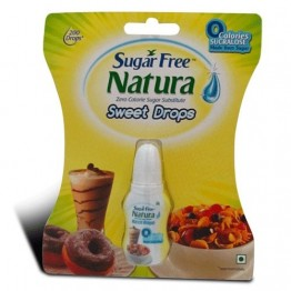 Sugar free Natura Sweet Drops Sugar salt and Jaggery