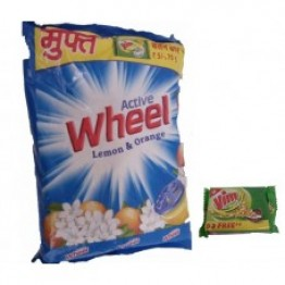 Active wheel lemon & orange Washing Powder