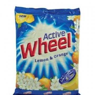 Active Wheel Lemon & Jasmine Detergent Powder Washing Powder