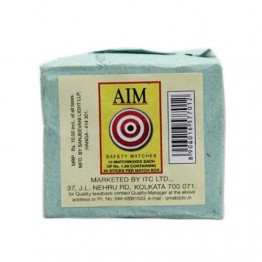 AIM Matches Box, 35 sticks ( Pack of 10 ) Miscellaneous