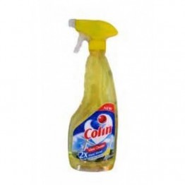 Colin Glass Cleaner - Lemon Fragrance (2x More Shine with Shine Boosters) Glass Drain & Other Cleaners
