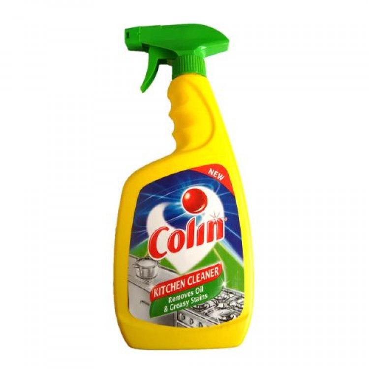 Colin Kitchen Cleaner   Removes Oil U0026 Greasy Stains Toilet And Floor  Cleaners