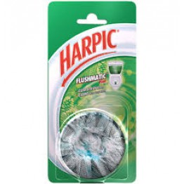 Harpic Toilet Cleaner - Flushmatic (Pine) Toilet and Floor Cleaners