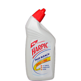 Harpic Toilet Cleaner - Plus Bleach Toilet and Floor Cleaners