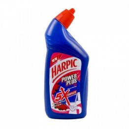 Harpic Toilet Cleaner - Power Plus (Orange) Toilet and Floor Cleaners