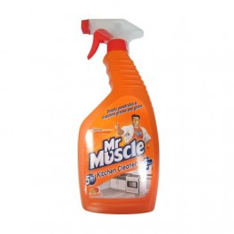 Mr. Muscle Kitchen Cleaner - 5 in 1 Orange Glass Drain & Other Cleaners