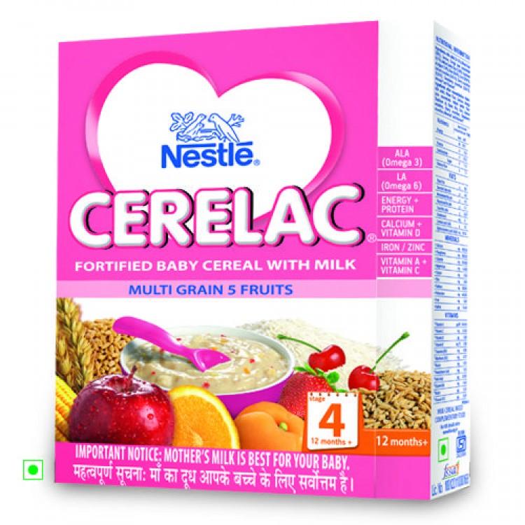 Cerelac Stage 4 Multi Grain 5 Fruits