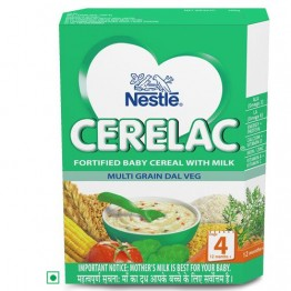 Nestle Cerelac - Multi Grain Dal Veg (Stage 4) Baby food