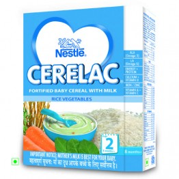 Nestle Cerelac - Rice Vegetables (Stage 2) Baby food
