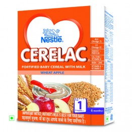 Nestle Cerelac - Wheat Apple (Stage 1) Baby food