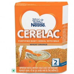 Nestle Cerelac - Wheat Orange (Stage 2) Baby food