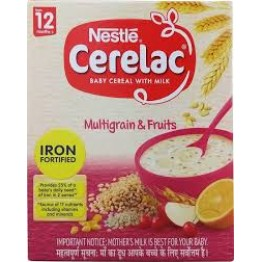 Nestle Cerelac Multigrain & Fruits - 12 Months Baby food