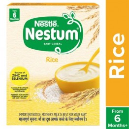 Nestle Nestum Fortified Baby Cereal - Rice, From 6 months Baby food