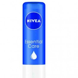 Nivea Essential Care Lip Moisturiser - Jojoba Oil & Shea Butter Lip Care