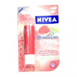 Nivea Fruity Shine Lip Moisturiser - Pink Guava Lip Care