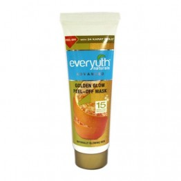 Everyuth Naturals Peel-Off Mask - Golden Glow Scrubs & Face Pack