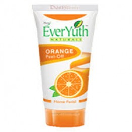Everyuth Home Facial Cream - Orange Peel Off Scrubs & Face Pack