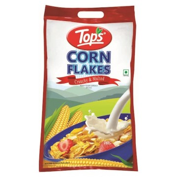 Tops CornFlakes Crunchy and Malted Breakfast Cereals