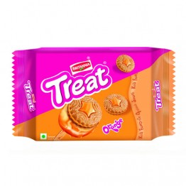 Britannia Treat - Orange Biscuits Cream Biscuits