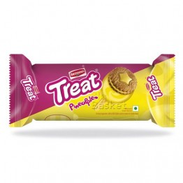 Britannia Treat - Pineapple Biscuits Cream Biscuits
