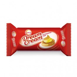 Sunfeast Dream Cream Biscuits - Butterscotch Zing Cream Biscuits