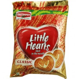 britannia Biscuits - Little Hearts Cream Biscuits