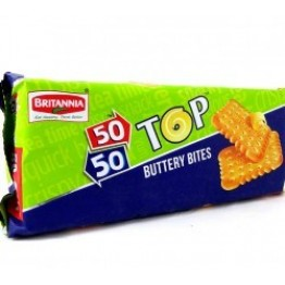 Britannia - 50 - 50 Top Butter Bites Biscuits