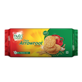 Britannia - Nutri Choice Thin Arrowroot Biscuit Biscuits