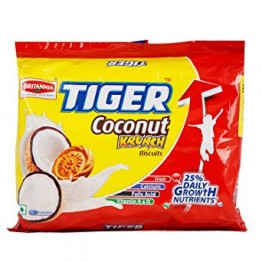 Britannia Tiger Coconut Krunch Bakery, Breakfast & Snacks