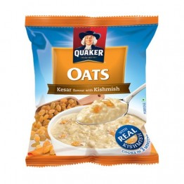 Quaker Oats - Kesar Flavor with Kishmish Breakfast Cereals