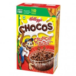 Kelloggs Chocos Crunchy Bites - Smacks Chocolaty Blocks Breakfast Cereals