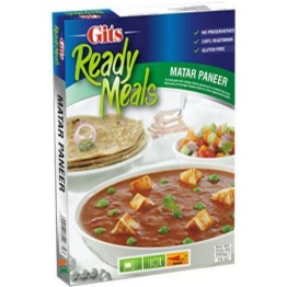 Gits Ready Meals - Matar Paneer Ready to Cook