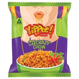 Sunfeast Yippee Noodles - My Crazy Chow Noodles