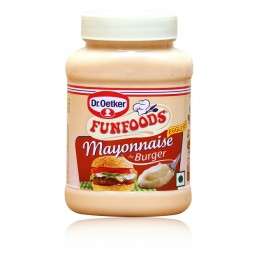 Funfoods - Mayonnaise For Burger Jams & Spreads