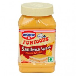 Funfoods - Sandwich Spread Cheese & Chilli Jams & Spreads