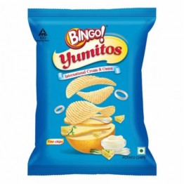 Bingo Yumitos - International Cream & Onion Chips