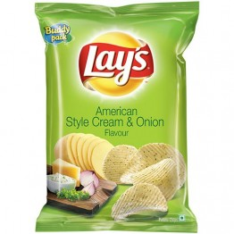 Lays Potato Chips - American Style Cream & Onion Flavor Chips