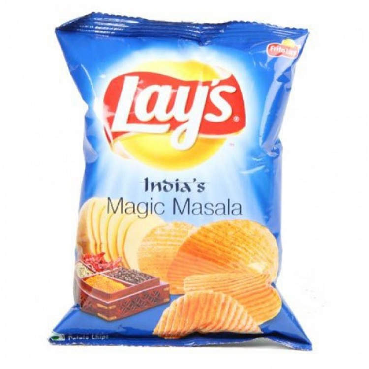 Lays Potato Chips India Magic Masala Party Pack Gm Pouch X