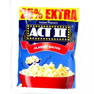 ACT II Instant Popcorn - Classic Salted Pop Corn