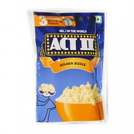 ACT II Instant Popcorn - Golden sizzle Pop Corn