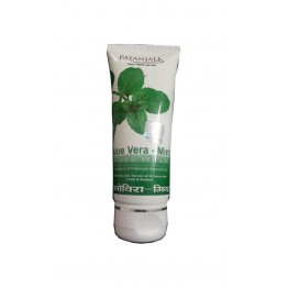Alovera Mint Face Wash-60Gm Patanjali
