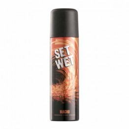 Set Wet Perfumed Deodorant Spray - Macho Deo's & perfumes